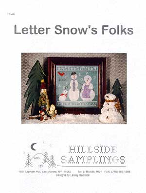 Letter Snow's Folks