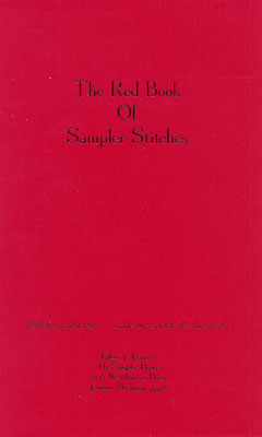 Red Book Of Sampler Stitches