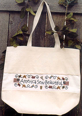 America Sew Beautiful (w/charms)
