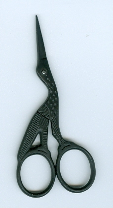 3 1/2in Matte Metal Embroidery Scissors