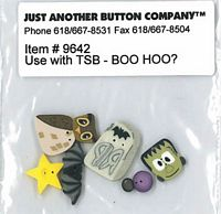 Boo Hoo Button Pack (9642)