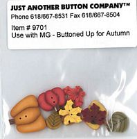 Buttoned Up For Autumn Button Pk