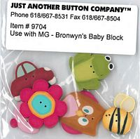 Bronwyn's Baby Block Button Pk