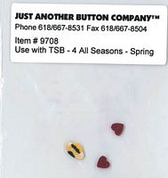 4 All Seasons-Spring Button Pk