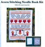 Acorn Stitching Needle Book Kit