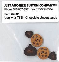 Chocolate Understands Button Pack