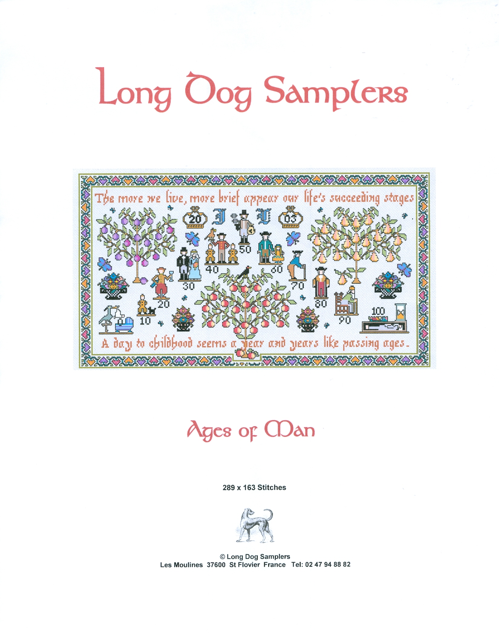 Long Dog Samplers : 3 Stitches, Your One Stop Shop!