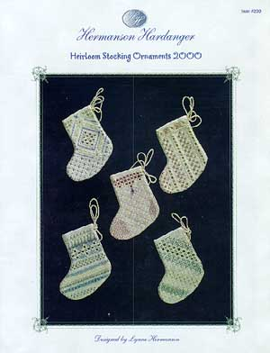 Heirloom Stocking 2000 Ornaments